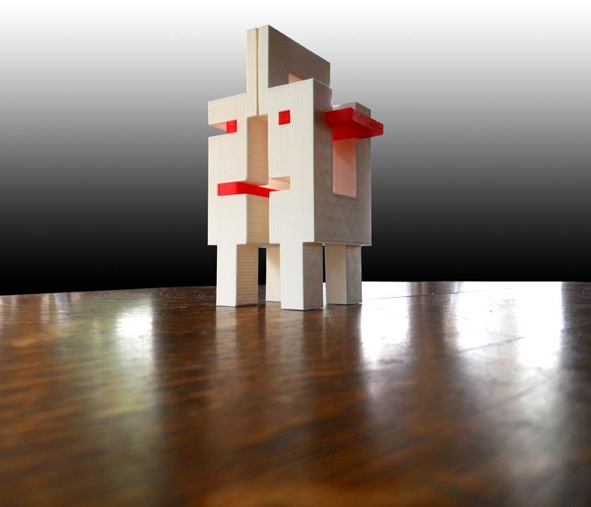 Model Citizen - Assembled 3d Prints