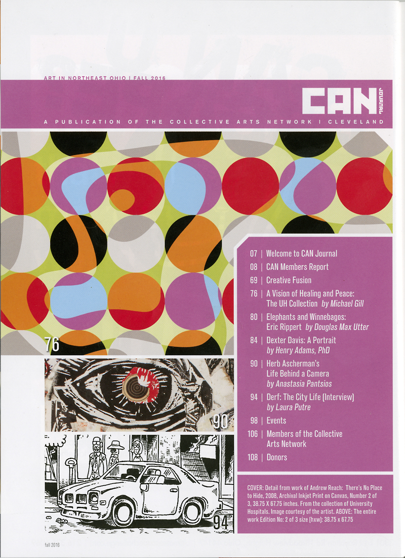 CAN Journal (Collective Arts Network) 2016 Fall Edition